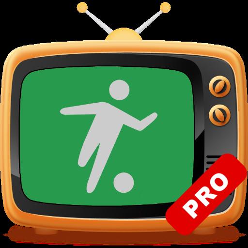 Football on TV Pro icon