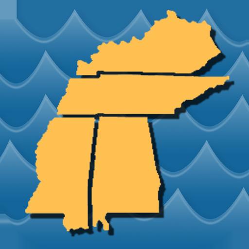 Stream Map USA - MountainSouth icon