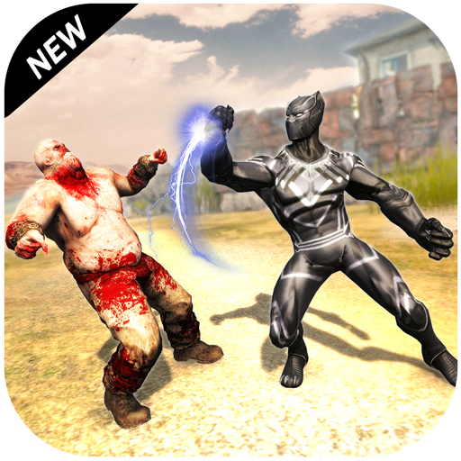 Monster Crime Battle - Multi Hero Panther Game icon