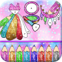 Glitter Fashion Artwork Girls Beauty Coloring Book Apk Update Unlocked