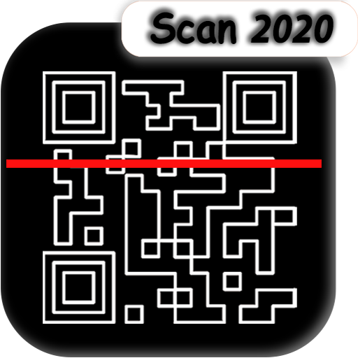 QR, Bar code scanner, qr bar code reader,scan 2020 icon