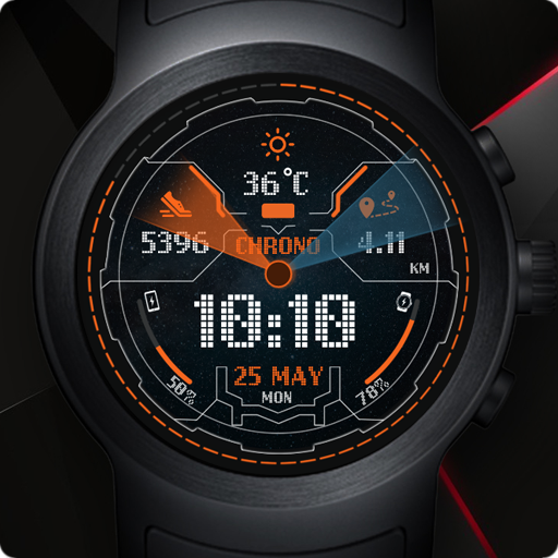 Nimbus Watch Face & Clock Live Wallpaper icon