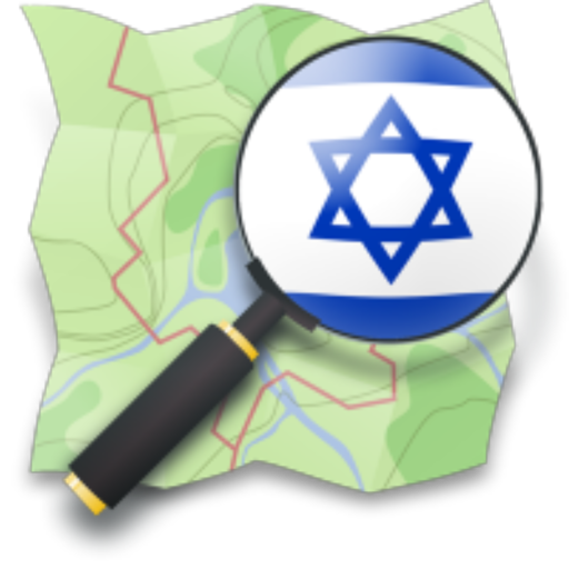 Israel Hiking Map icon