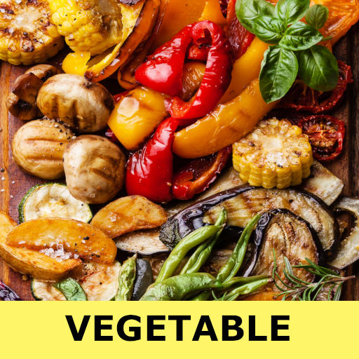 Vegetable recipes for free app offline with photo icon