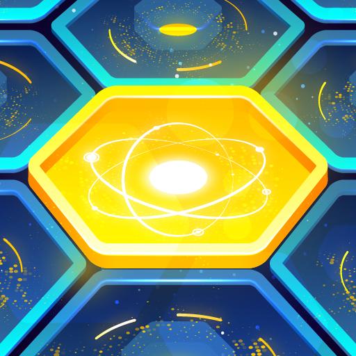 Tetcore - hex block and brick drop puzzle game icon