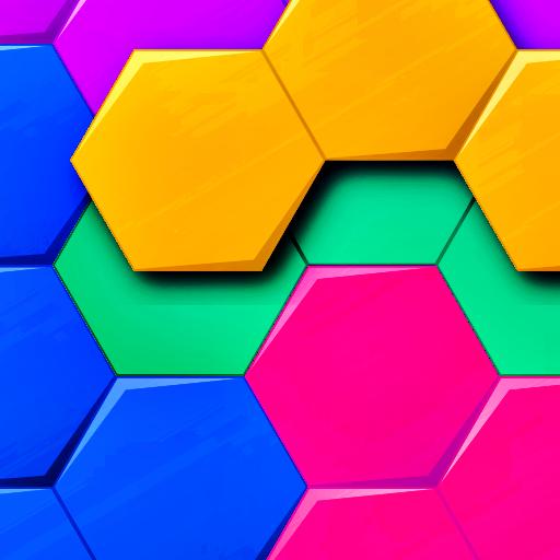 Block Puzzle - Hexagon, Square, Triangle (Tangram) icon