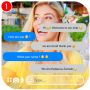 fake call and chat with Rebecca – prank Apk Update Unlocked