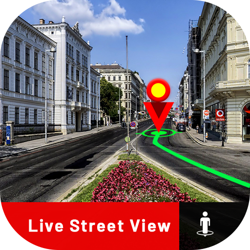 Street View Map 2020:Voice Map & Route Planner Pro icon