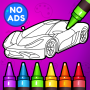 🚗 Learn Coloring & Drawing Car Games for Kids  🎨 Apk Update Unlocked