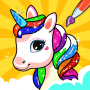 Unicorn Coloring Book & Unicorn Games for Girls Apk Update Unlocked