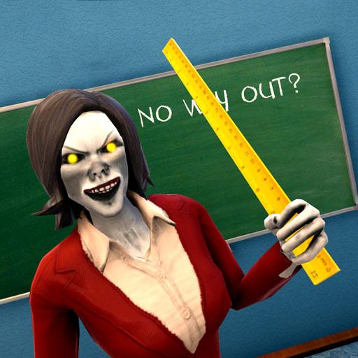 Scary Math Teacher Horror Classroom Escape icon