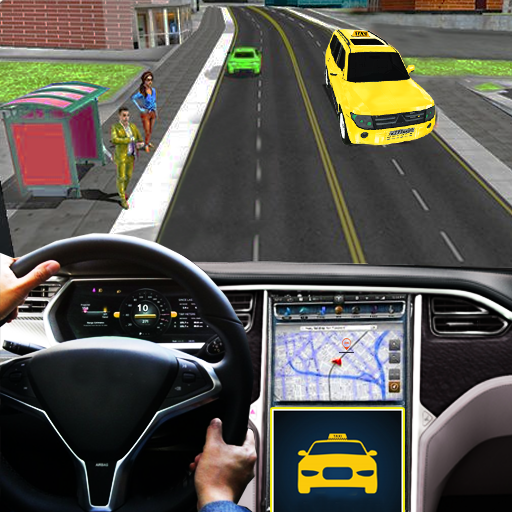 City Taxi Traffic Sim 2020-Taxi Games New Games icon