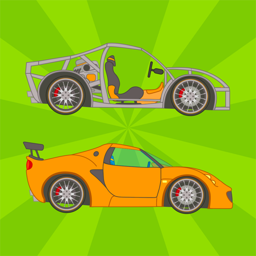 Kids Vehicle Building Game icon