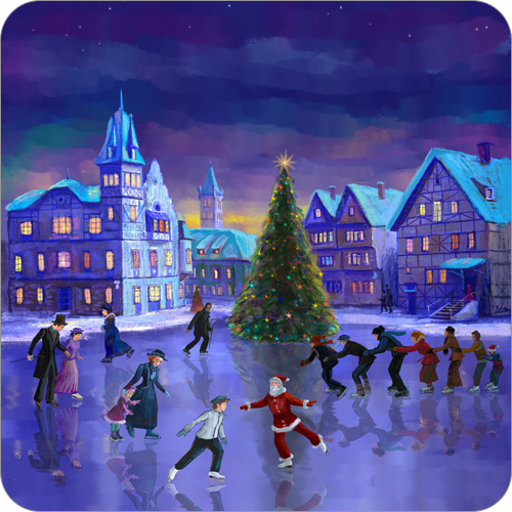Christmas Rink Live Wallpaper icon