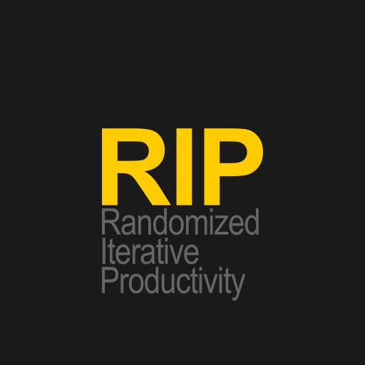 RIP - Randomized Iterative Productivity icon