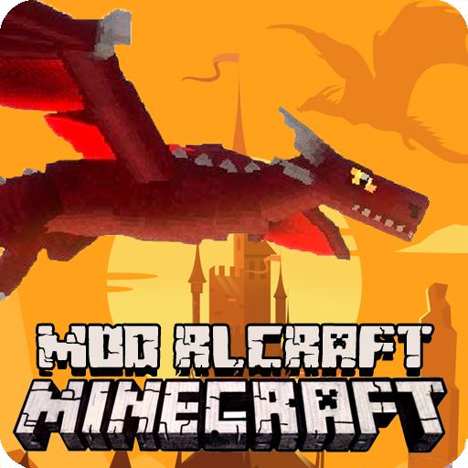 Dragon Mod RLCraft - Real Life Mode for MCPE 2021 icon