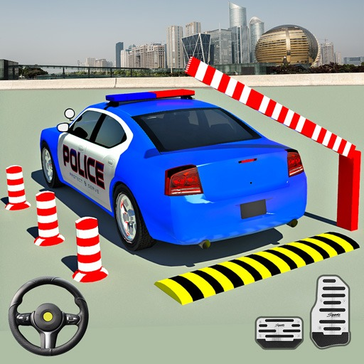 Modern Police Car Parking 2:City Car Driving Games icon