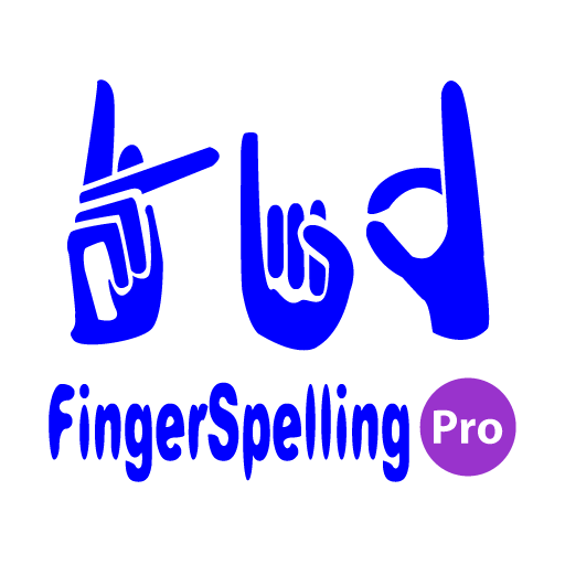 Fingerspelling Pro for Kids icon