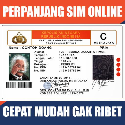 Perpanjang SIM Online icon