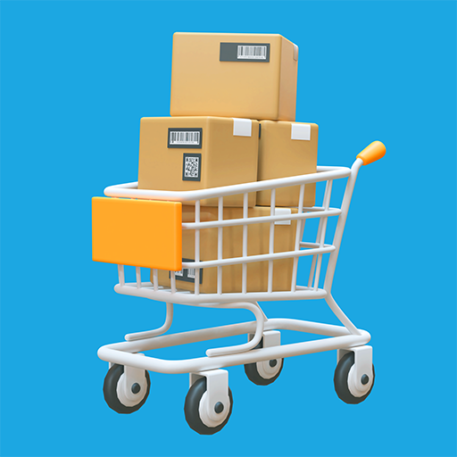 Online Shopper 3D icon