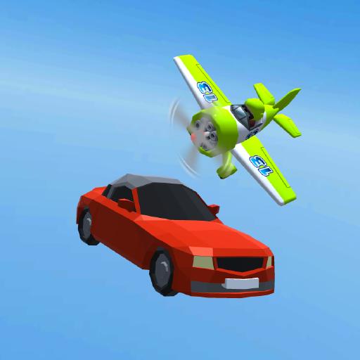 Toon Racer 3D : Highway Traffic Racer 2021 icon