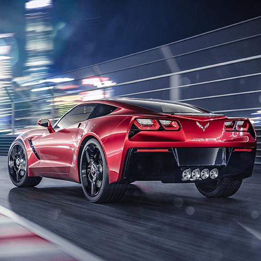 Car Simulator Corvette icon