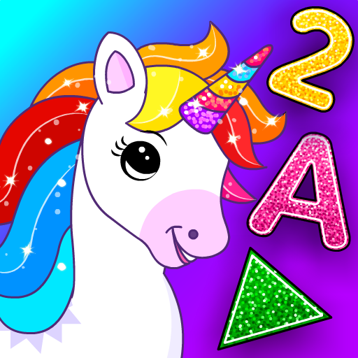 Unicorn Games for Kids & Toddler 2, 3, 4 Year Olds icon