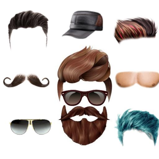 Men Hair style photo Editor icon