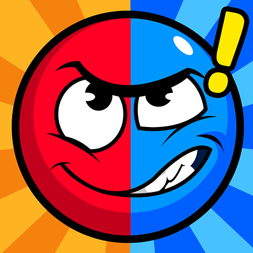 Red and Blue Puzzle: Twin Color Ball icon