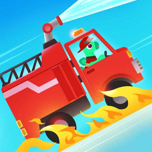 Dinosaur Fire Truck - Firefighting games for kids icon