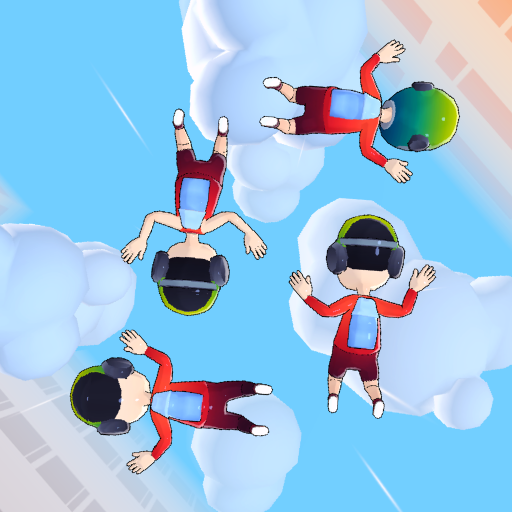 Skydiving Formation Puzzle icon