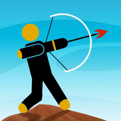Stickman Archery Games : Offline Shooting Games icon
